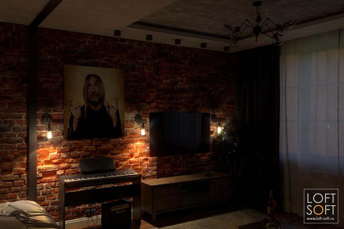 Сценарий освещения на примере одной комнаты — бра
