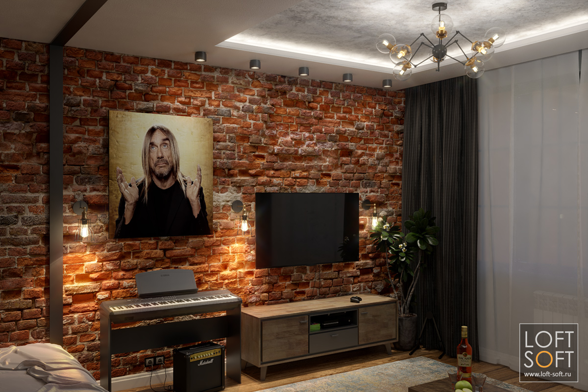 Сценарий освещения на примере одной комнаты — весь свет