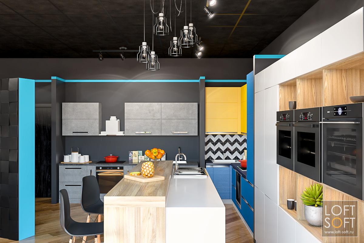Стильный дизайн интерьера магазина IQ Kitchen