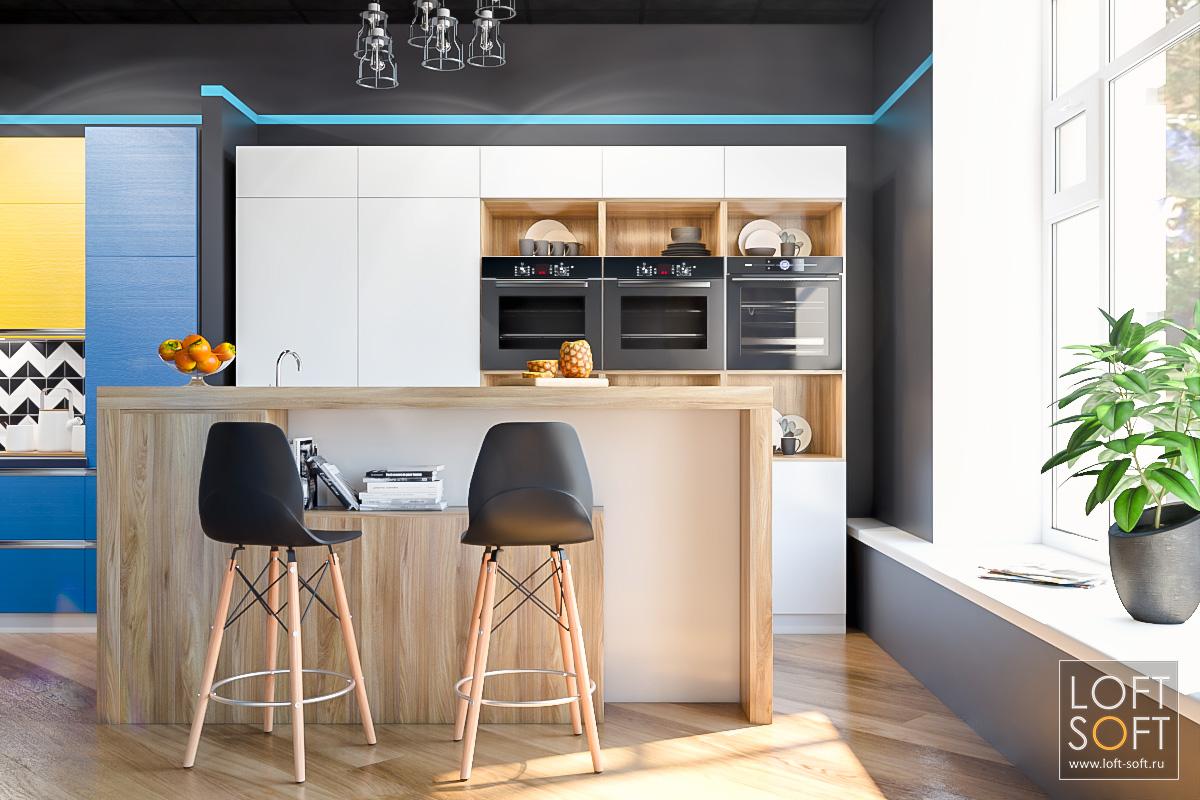 IQ Kitchen дизайн магазина