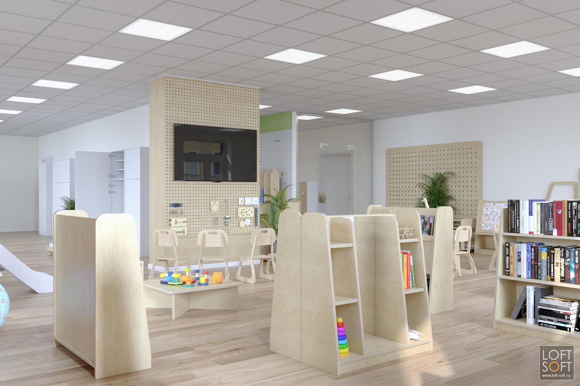 Мебель из фанеры, дизайн иразработка мебели для детского пространства