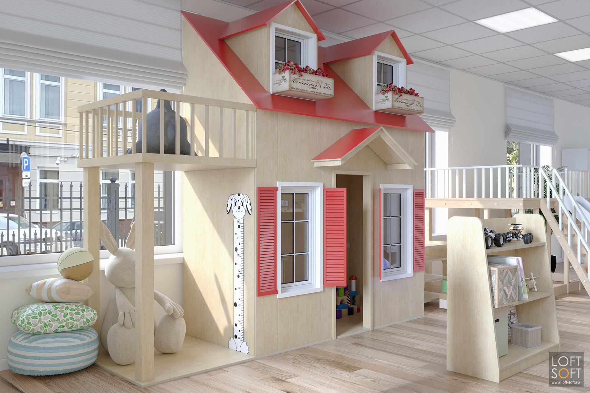 Детская мебель, дом для игр