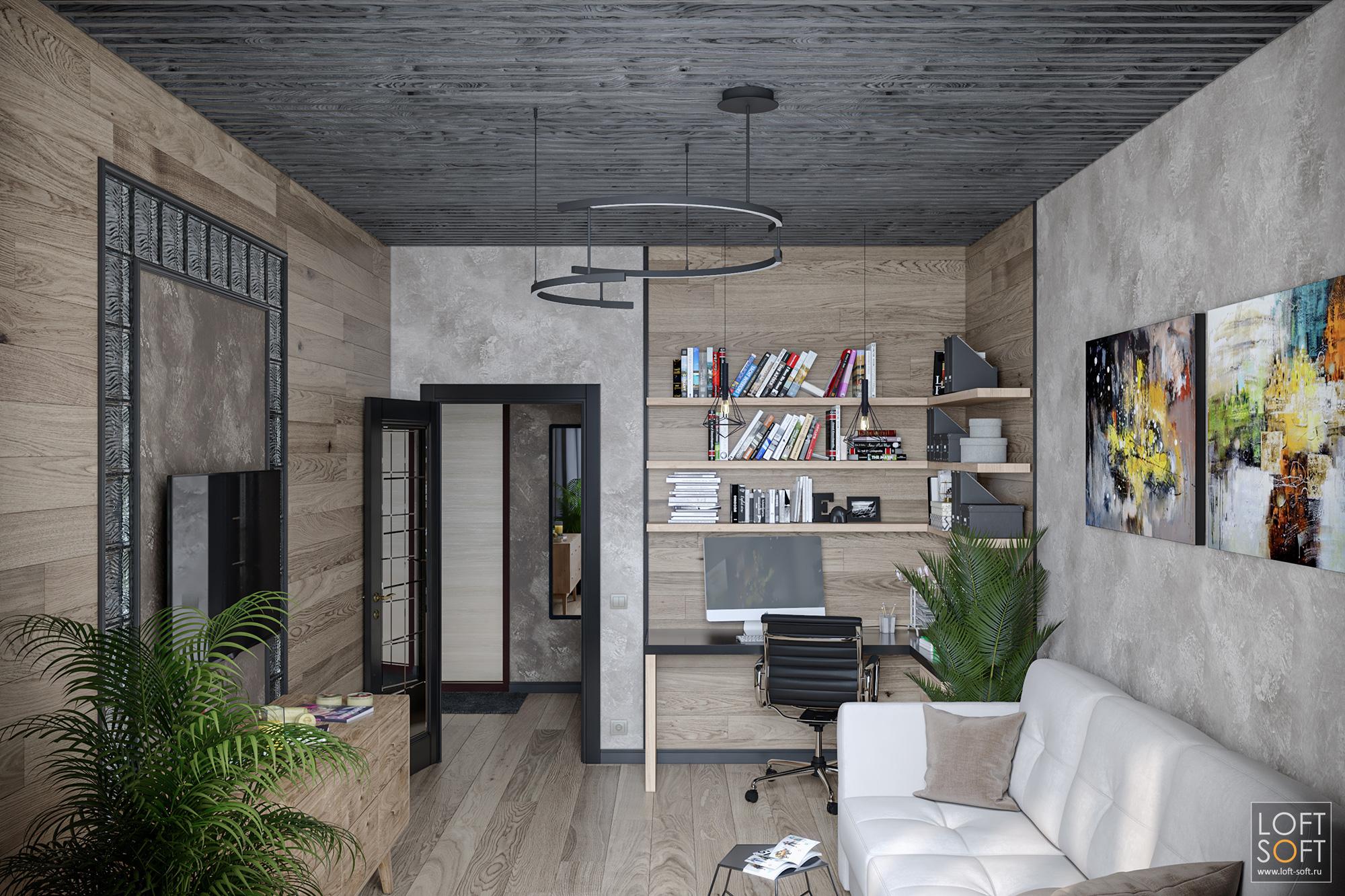 реечный потолок, черный потолок вквартире, современный дизайн квартиры