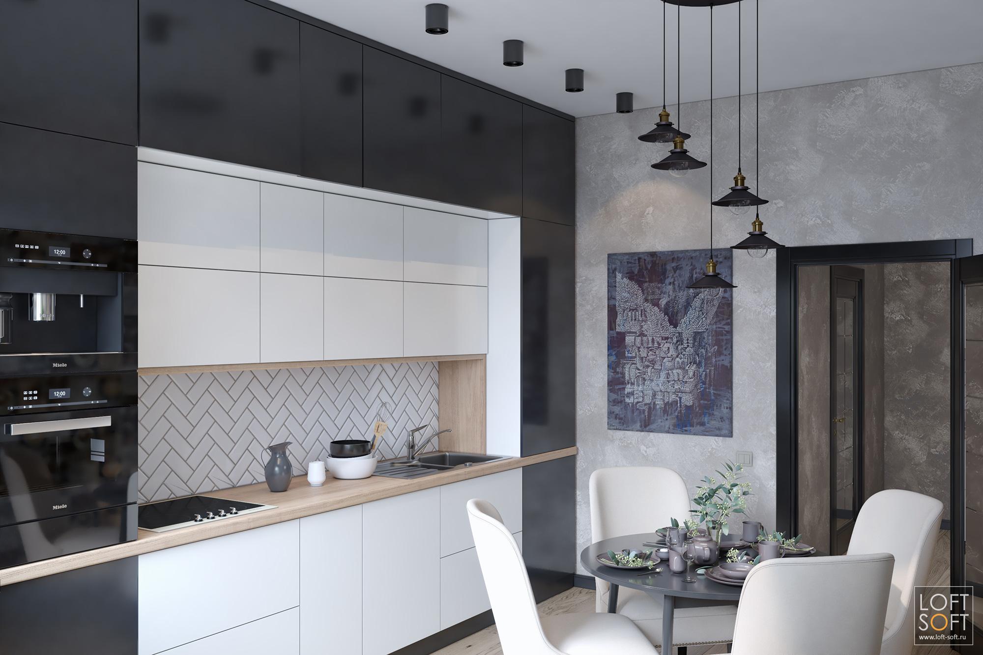 современная кухни, кухня всовременном интерьере