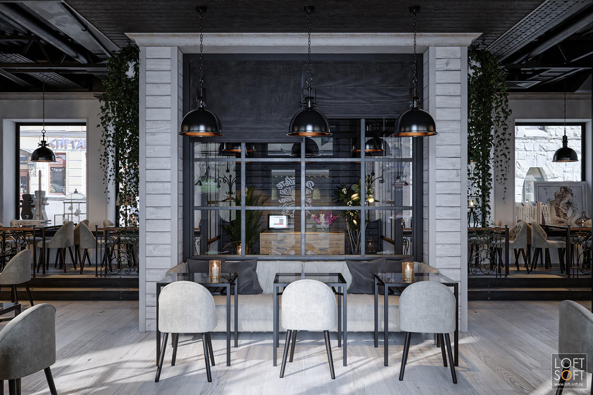 Дизайн домашнего кафе встиле современный прованс