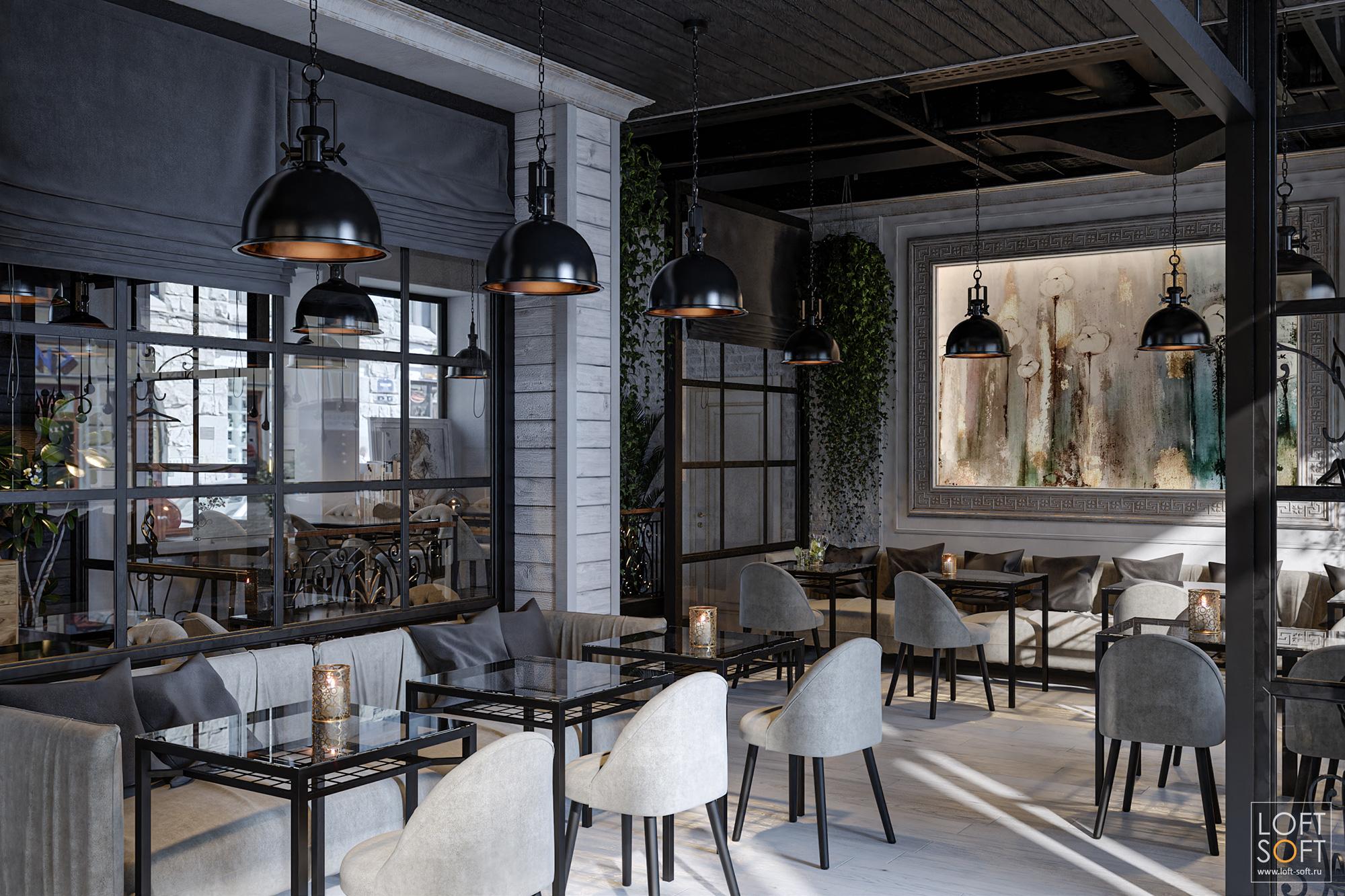 Дизайн уютного кафе встиле прованс